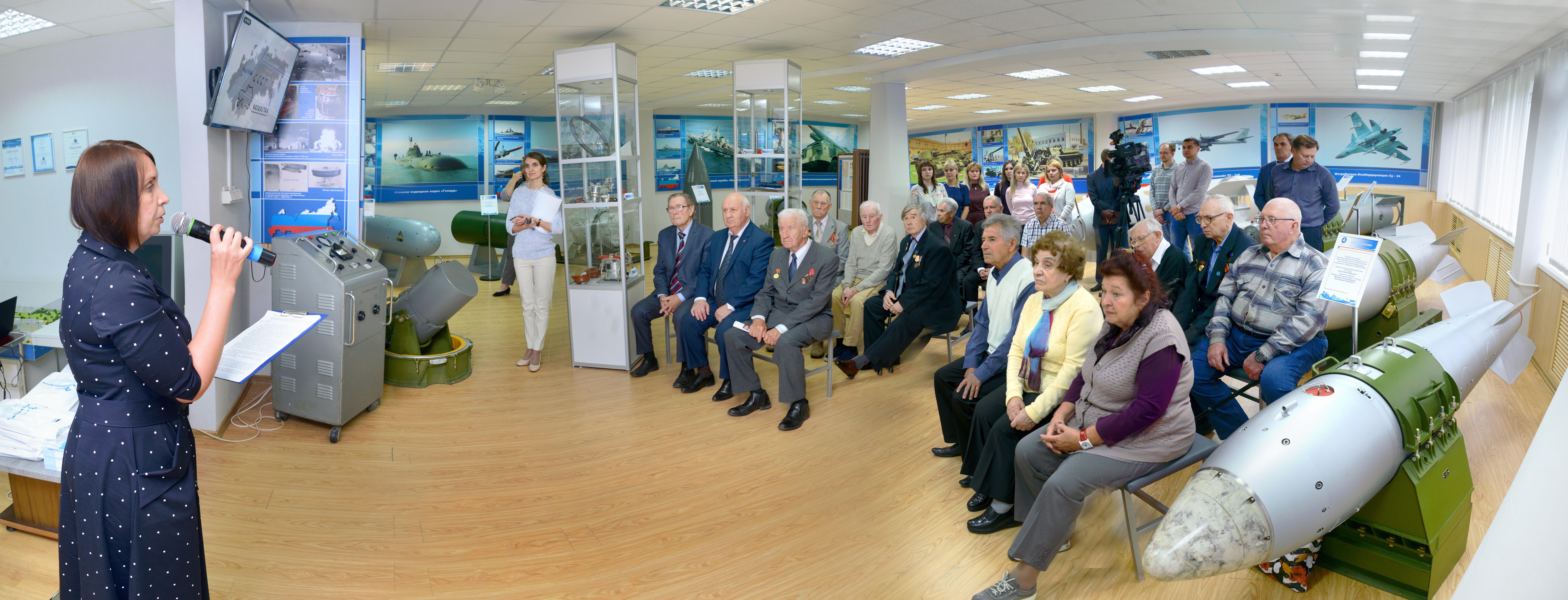 В заводском музейно-выставочном комплексе открылась новая экспозиция